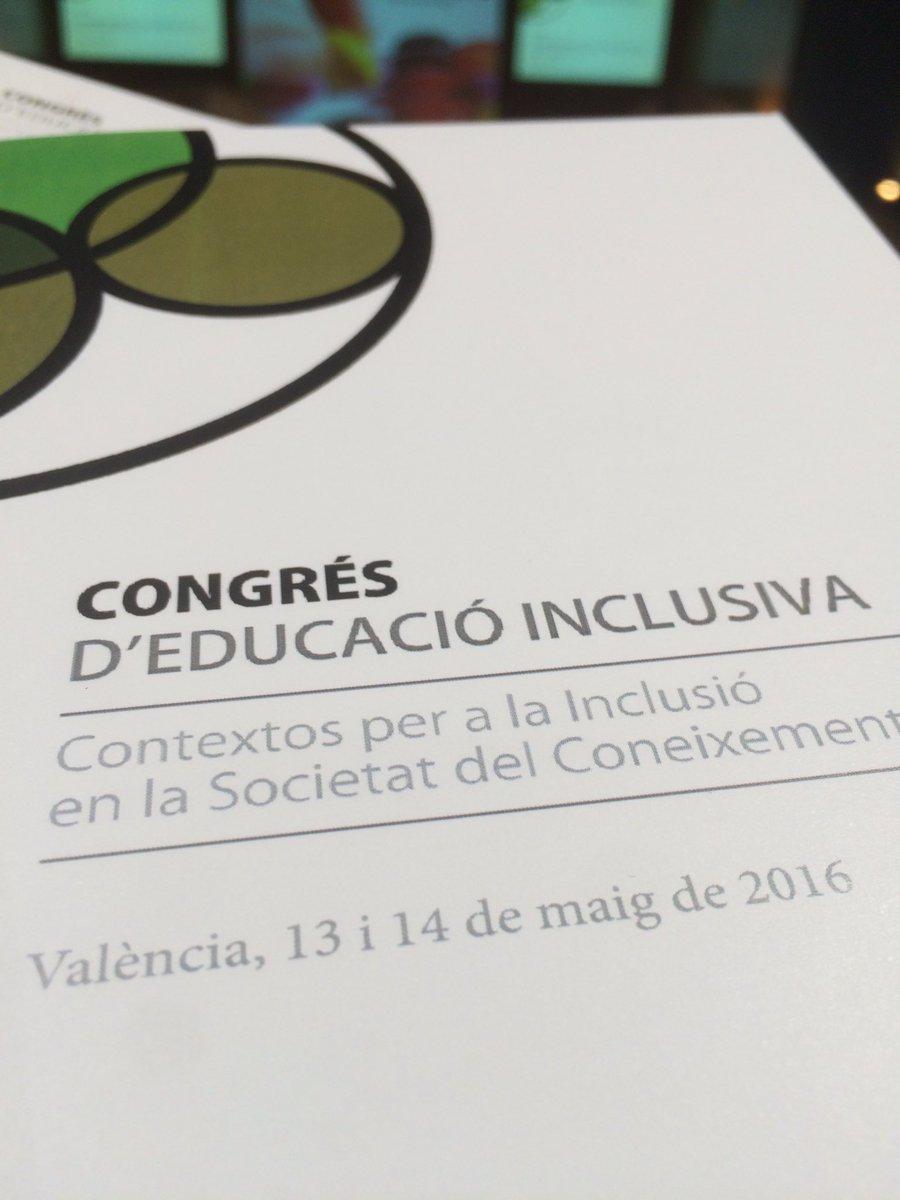 Congrés d'Ed. Inclusiva ara Pràctiques inclusives, Treball en Grups Interactius. #EduInclusiva16 #PrimaveraEducativa https://t.co/zjTg0IXTk6