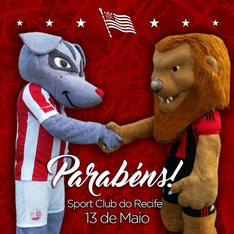 O Clube Náutico Capibaribe parabeniza o Sport Club do Recife pelos seus 111 anos de história. https://t.co/tOyIVCgmMe