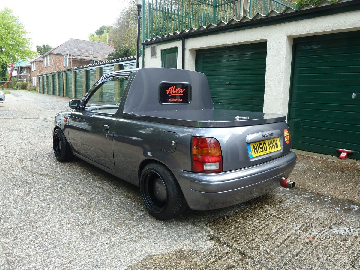 project cars uk on twitter modified nissan micra k11 pickup. Black Bedroom Furniture Sets. Home Design Ideas