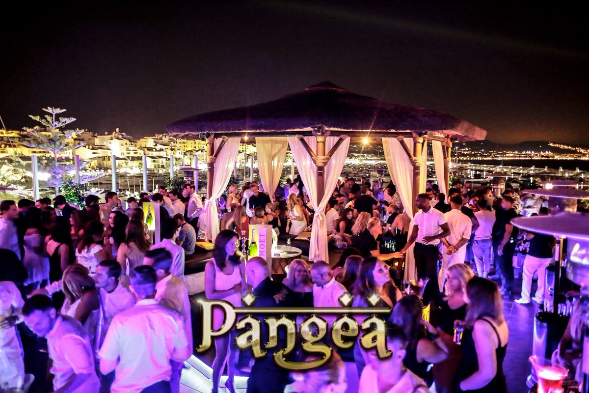 PANGEA MARBELLA... ITS WHAT FRIDAYS WERE MADE FOR!