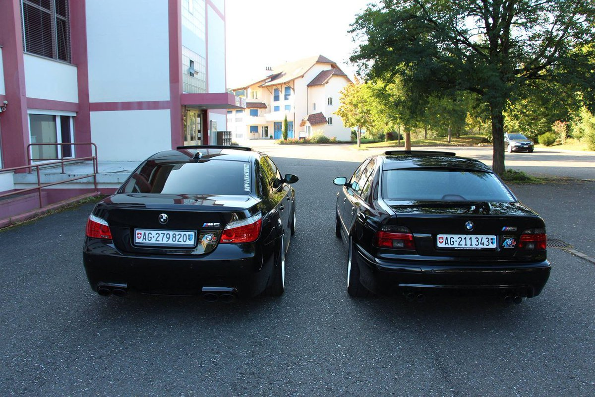 Bmw Lovers Club Blc On Twitter Bmw M5 E39 And Bmw M5 E60