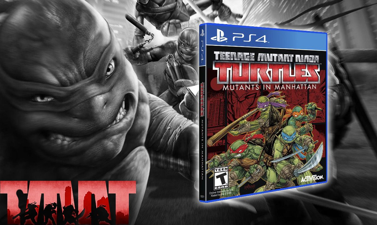#giveaway TMNT: Mutants in Manhattan #PS4 @Activision  LIKE + #RT to enter T&C's: