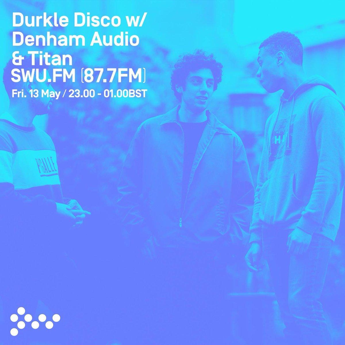 We're joining our @DurkleDisco fan tonight on @SWUfm. Join us from 23:00 https://t.co/S3LA7hmaAt