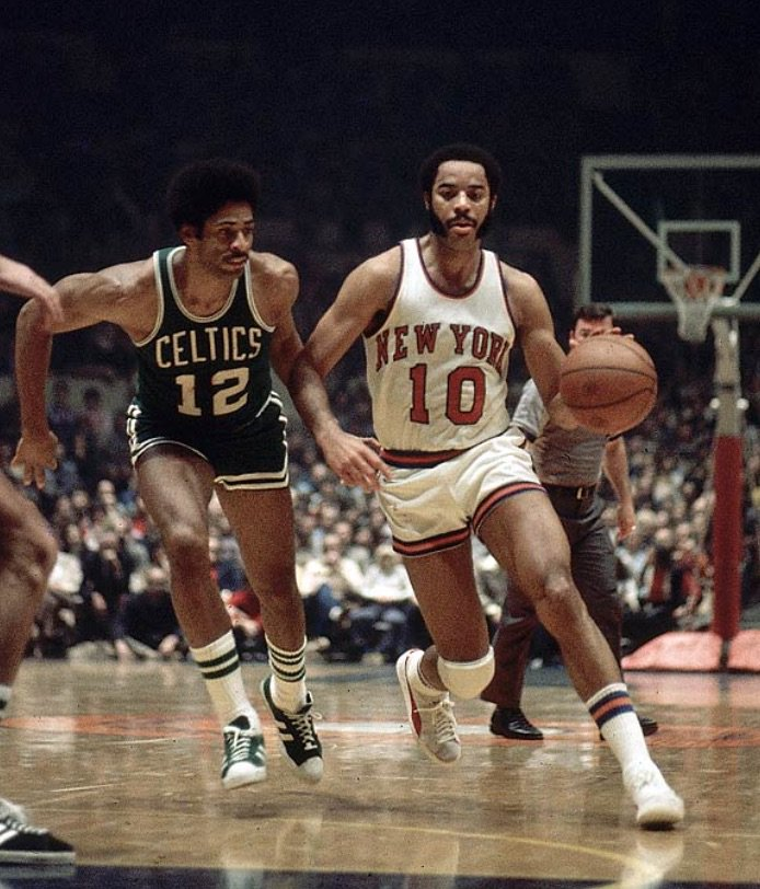 307005c7671 ... The great Walt Clyde Frazier. Sweet suede Pumas ...