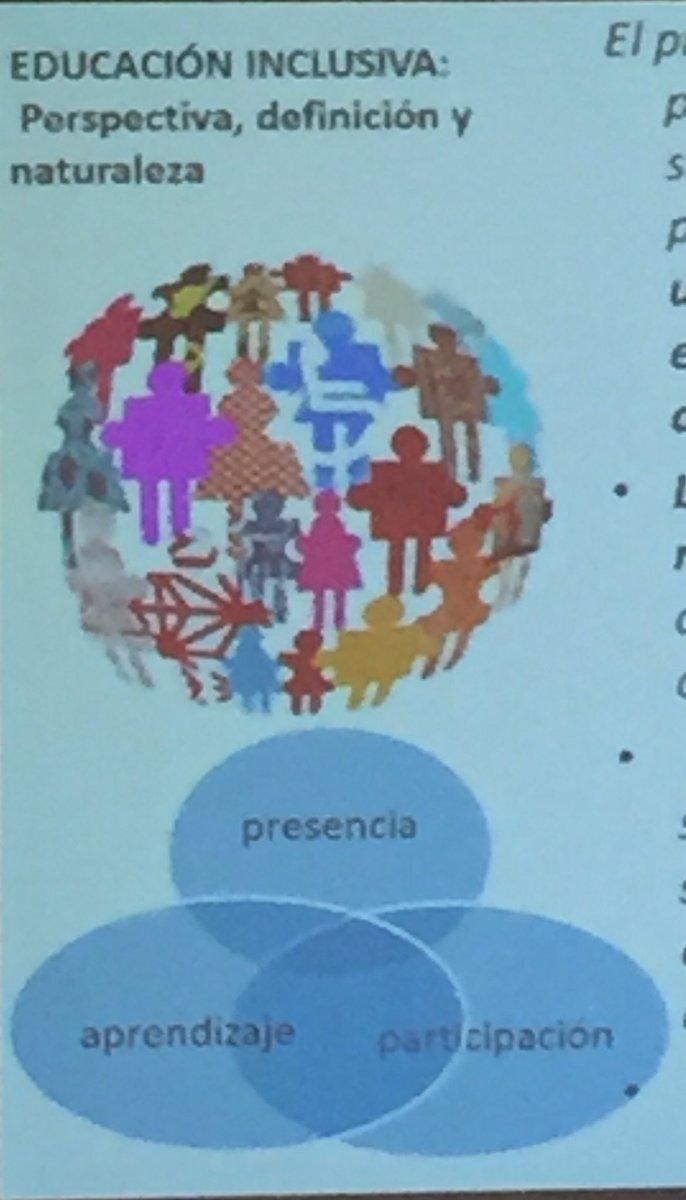 Trenzar, articular con equidad,la presencia,la participación y el aprendizaje. @EcheitaGe #EduInclusiva16 https://t.co/a94VzUKUCE