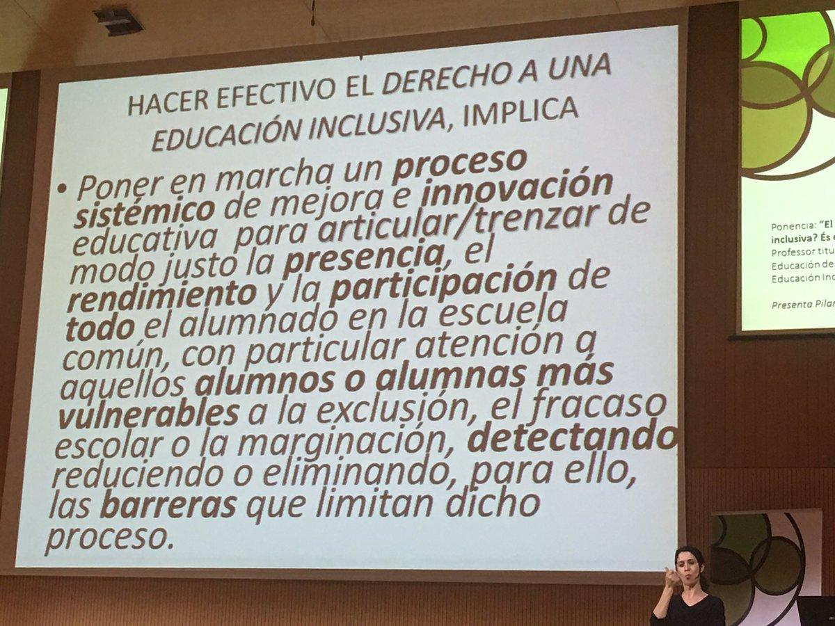 Que implica hacer efectivo el derecho a la educación inclusiva #EduInclusiva16 https://t.co/6GyiOd3ZTQ