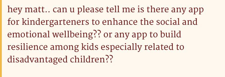 A: Yes, it is called play. It is free, works on all platforms and kids love it #kinderchat #letthemplay https://t.co/kVChnIqtGp