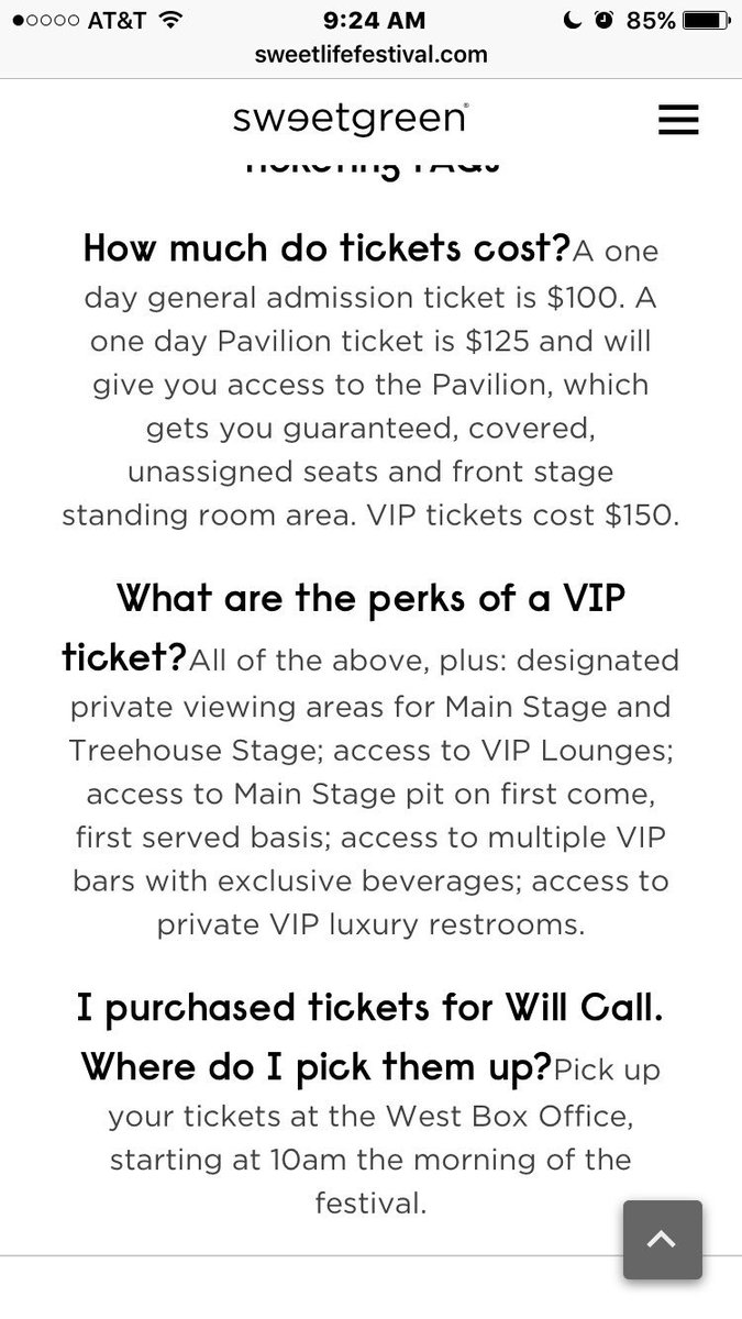 Sweetgreen On Twitter Hi There Ga Does Not Get Pit Access Vip