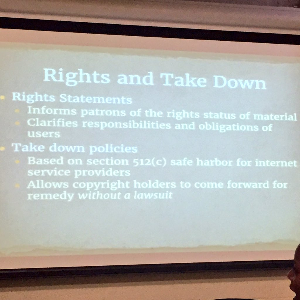 Rights statements & takedown policies: useful tools for #untoldhistories colleagues (thx, @AprilHathcock!) https://t.co/eS2POkZj84