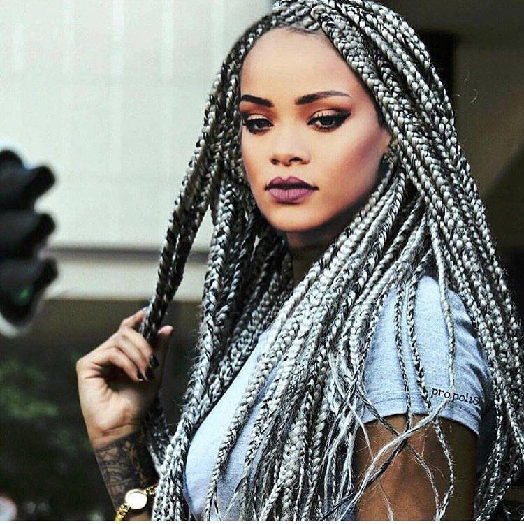 "Tropical Roots on Twitter: ""Gray braids anyone? #grayhairdontcare # ..."