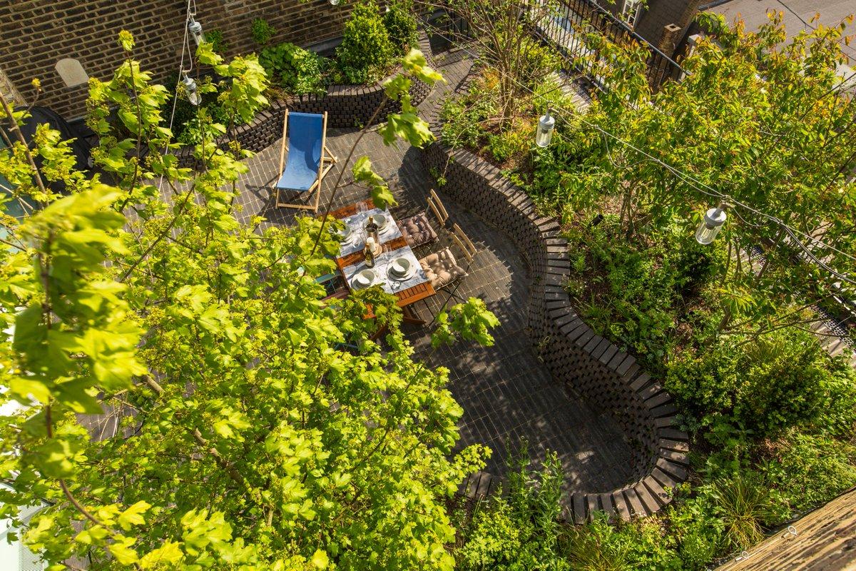 Garden Builders On Twitter An Interesting Roof Garden Designed