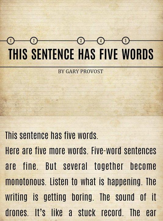 monotonous in a sentence