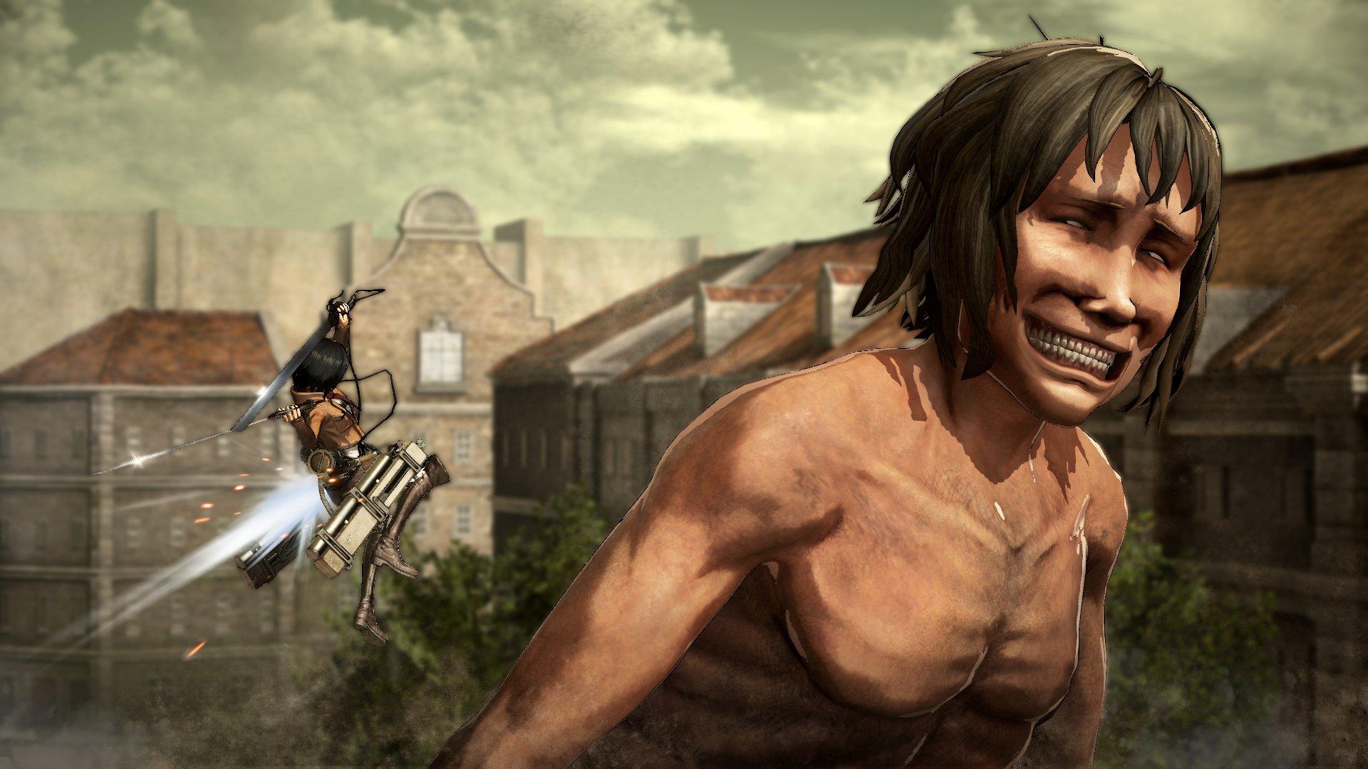 Attack on Titan Battle Footage, Pre-Order Bonuses & More Revealed 4
