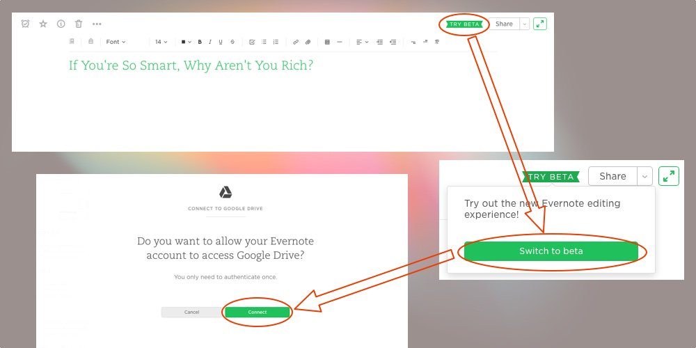 Evernote and Google Drive have teamed up to provide users with deeper integration: