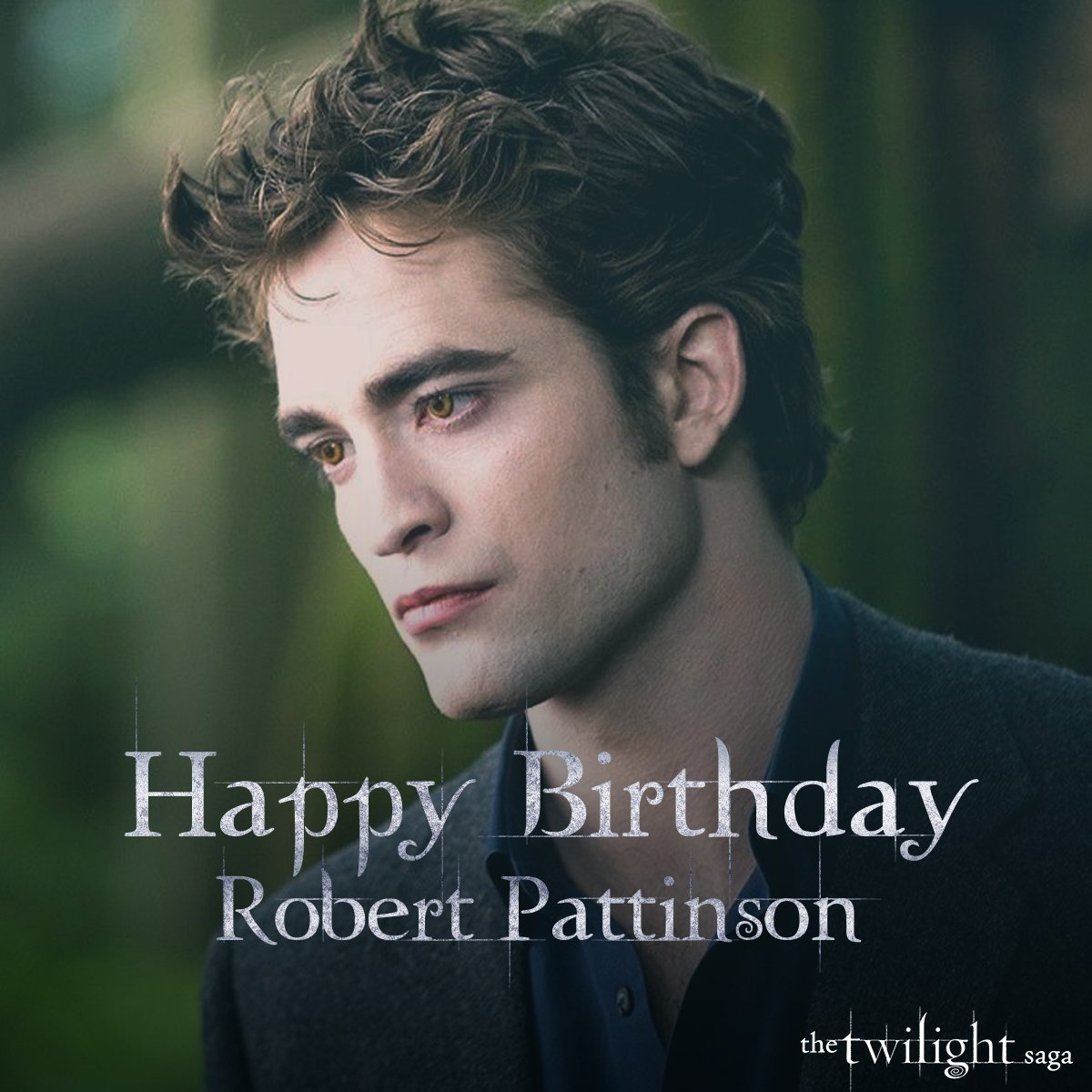 A very happy birthday to our favorite vampire, #RobertPattinson! #Twilight https://t.co/ef5JP3GPSD
