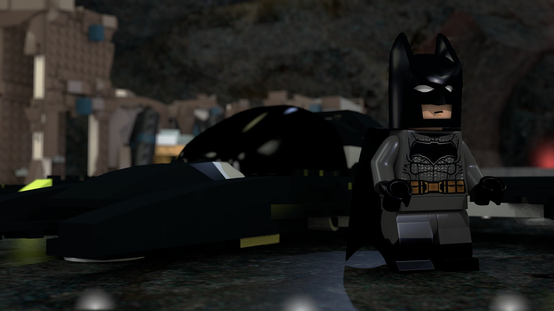 Lego batman – work in progress – Batcave