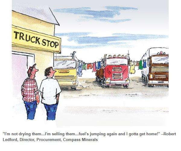 Transport Topics on Twitter:
