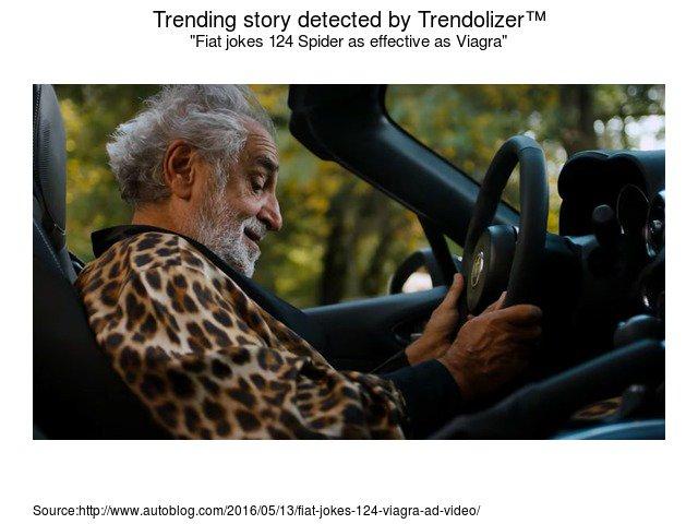Trending Car News On Twitter Fiat Jokes 124 Spider As Effective