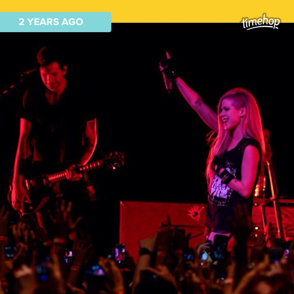 #timehop miss this! @AvrilLavigne https://t.co/1bGsC0jFlH