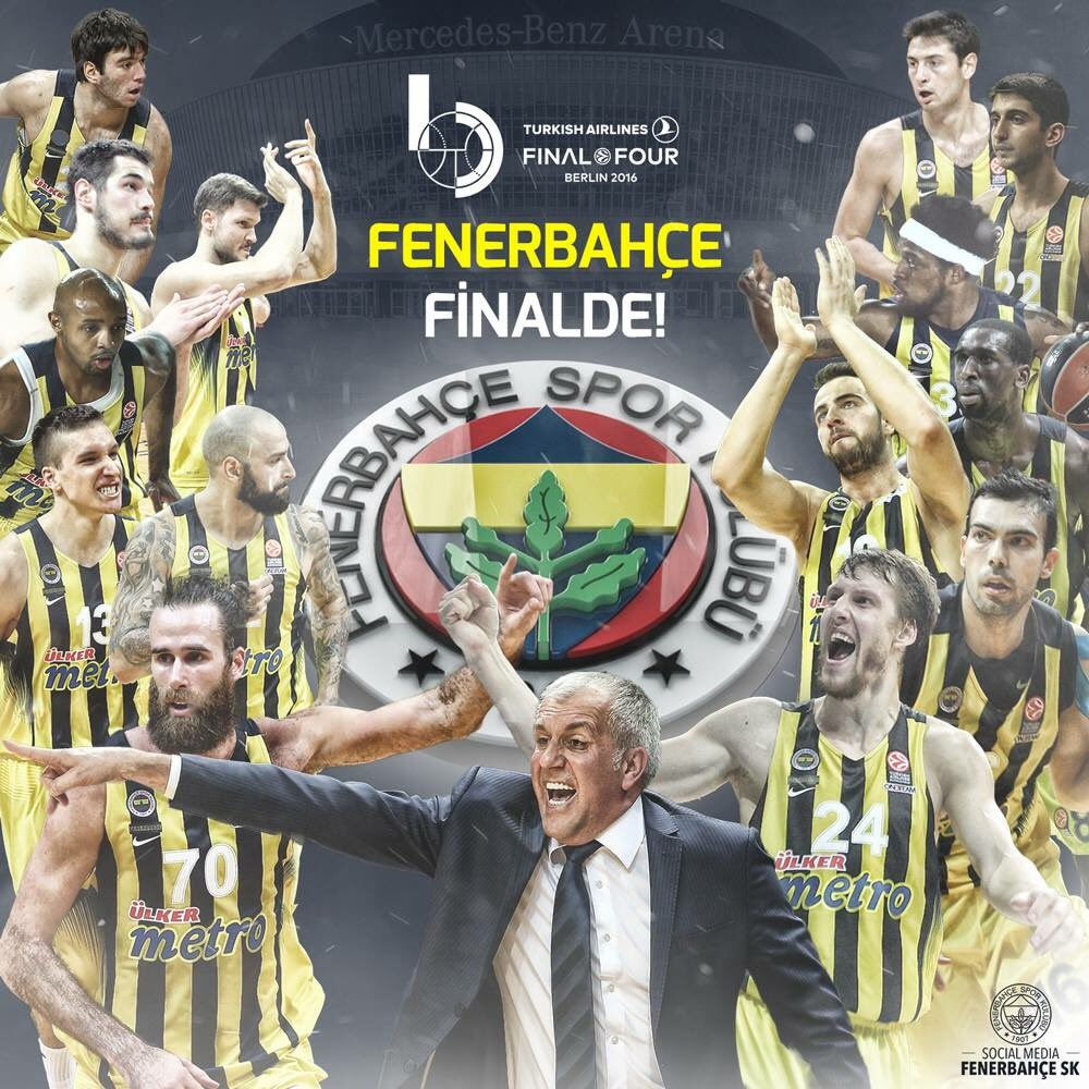 THY Avrupa Ligi'nde finale kalan ilk Türk takımı  #Fenerbahçe Basketbol takımını kutluyorum. Şampiyonluk bekliyoruz. https://t.co/nw8NTZbhBP