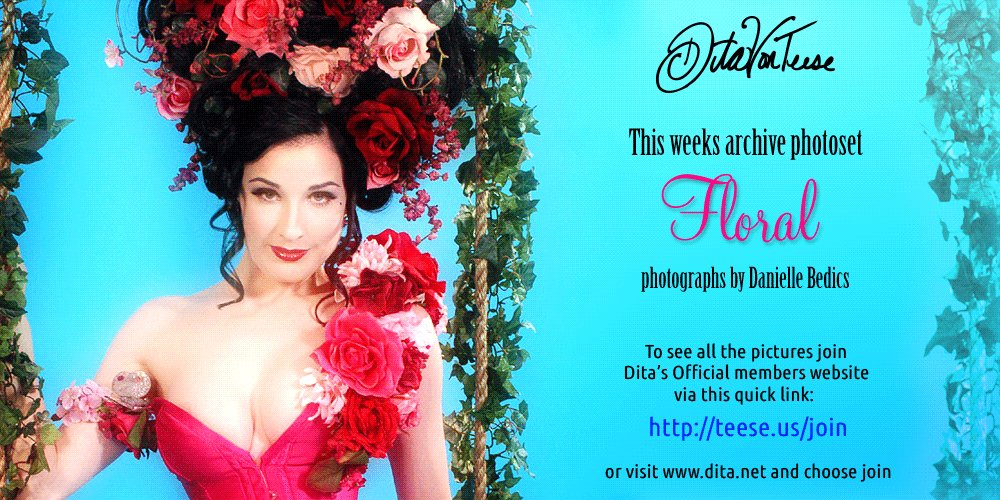 058d552a1 RT  ditaswebmaster  This weeks featured archive set for  DitaVonTeese  website members. To