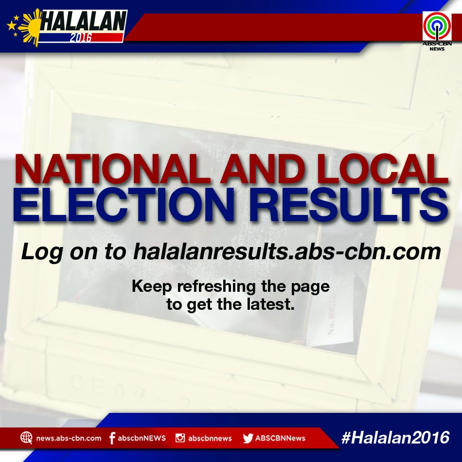 Abs Cbn Latest News Update: HalalanResults : Latest News, Breaking News Headlines