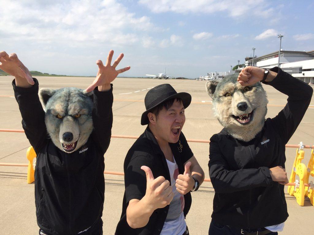狼がふざけております。めっちゃカッコよかった!! https://t.co/22QRkPoKuo