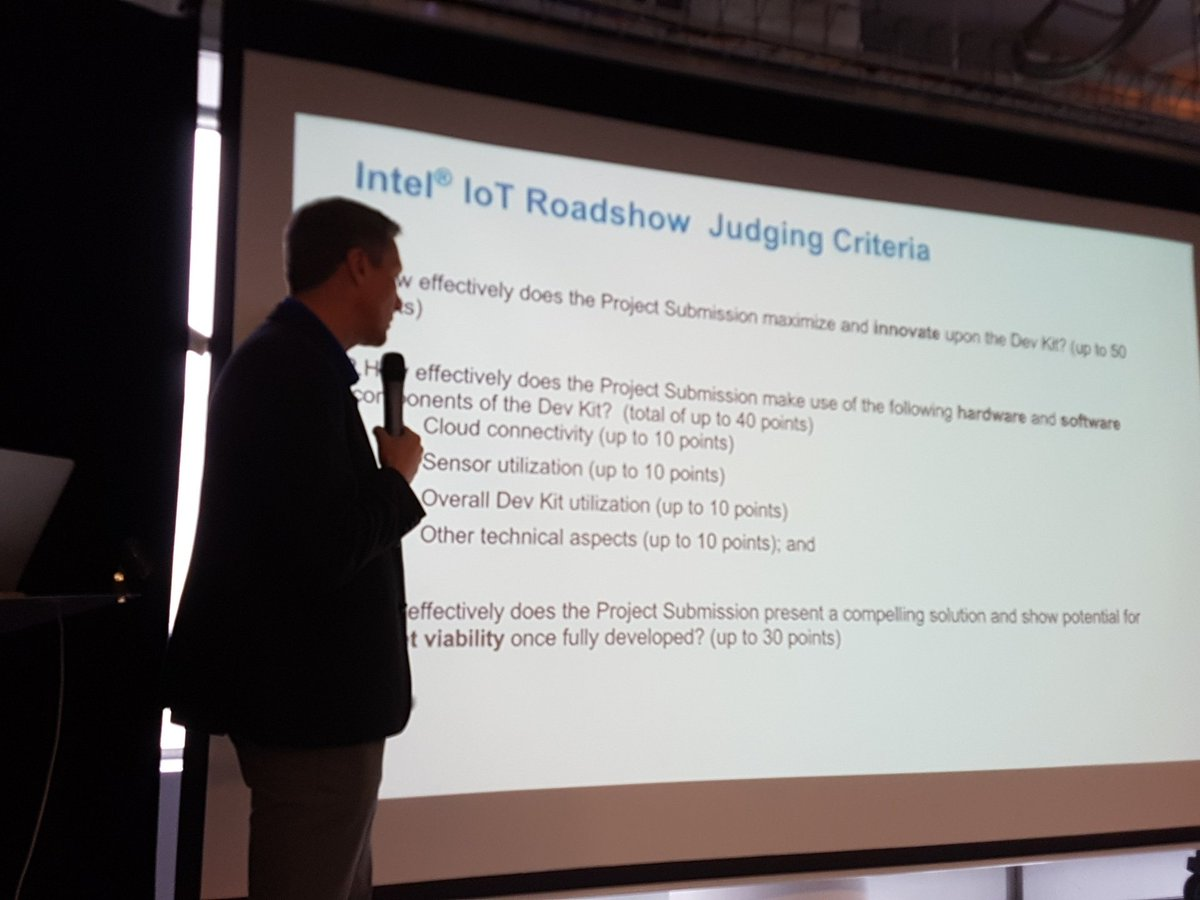 Intel IoT RoadShow London 16 photos