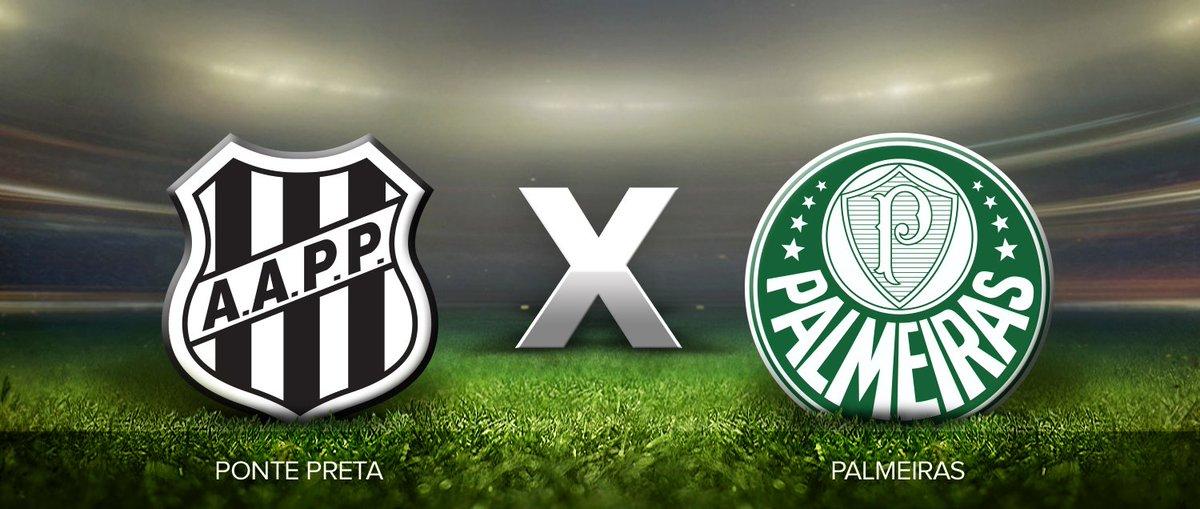 Ponte Preta x Palmeiras: horário, local, escalações e transmissão