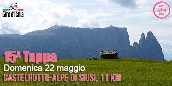 Giro d'Italia, la tappa di oggi domenica 22 maggio da vedere Streaming Gratis Rojadirecta e Diretta Live Video Rai TV