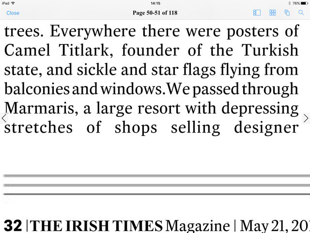 Who is the mysterious Camel Titlark? Some autocorrect loveliness from today's @IrishTimesMag @OrnaMulcahy https://t.co/0nklAKMG7d