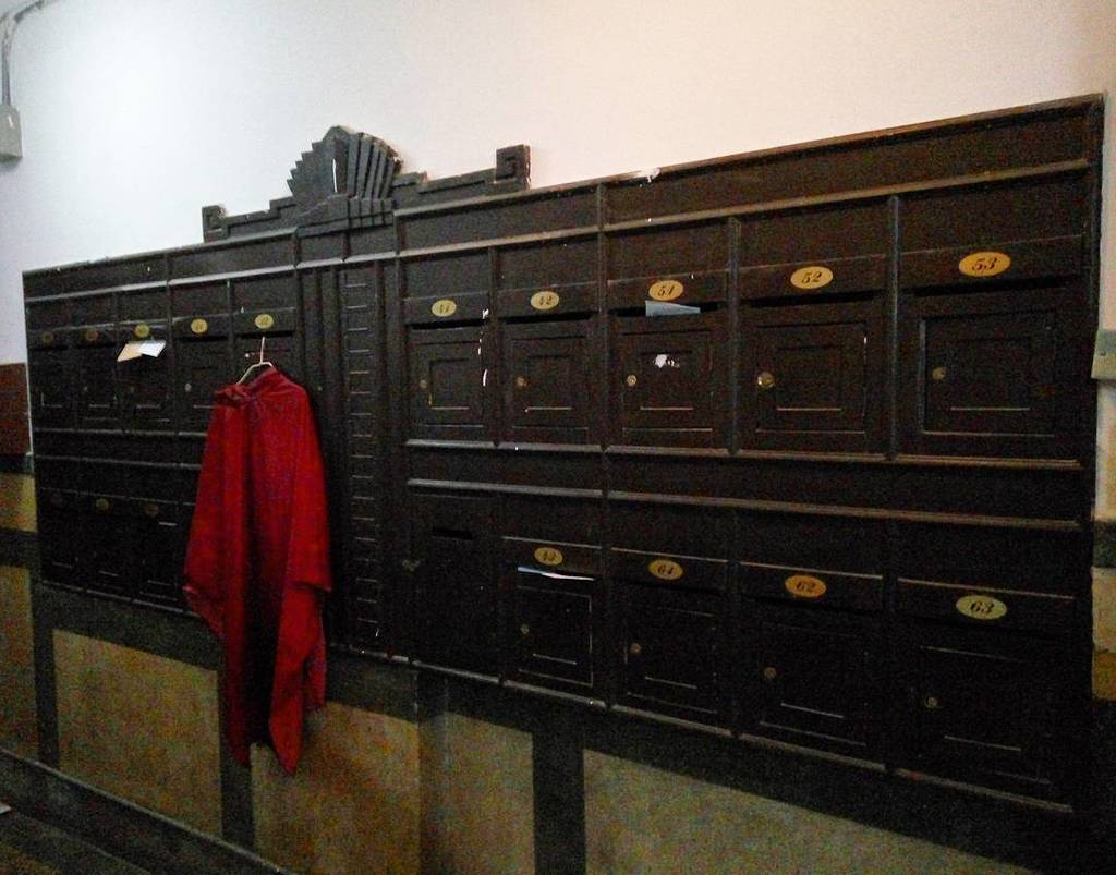 Gorgeous bank of mailboxes in an old apartment building in the Former French Concession of… https://t.co/sUplYXjjFi https://t.co/b5XTROIu5d