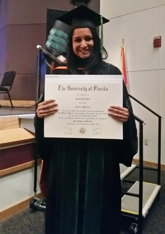 Congrats, Dr. Patel! #GatorMD #UFGrad https://t.co/0cDSypaWpp