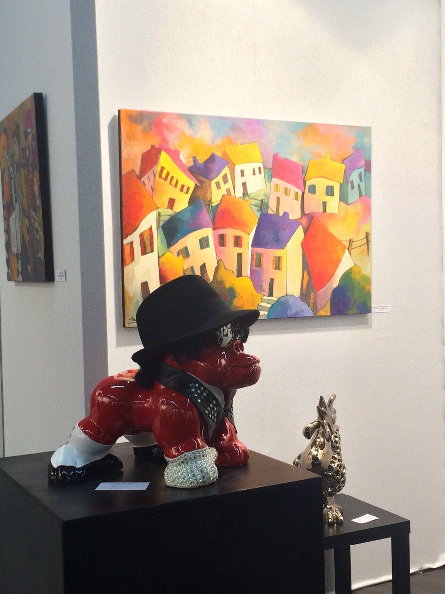 Fauve artiste peintr fauveartpeintre twitter - Salon international d art contemporain toulouse ...