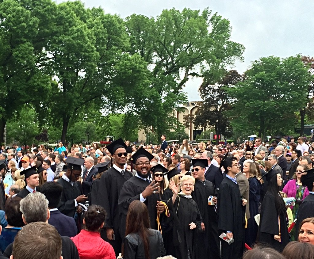 My boys. 😍😍 @fordhamnotes #Graduation2016 @KingofQarth76 @SwaePhae https://t.co/U30UWeNYKl