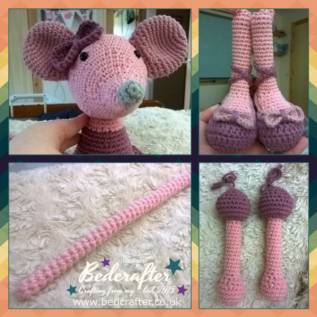 This crochet doll in Minnie Mouse... - Amigurumi Today - Free ... | 1024x1024