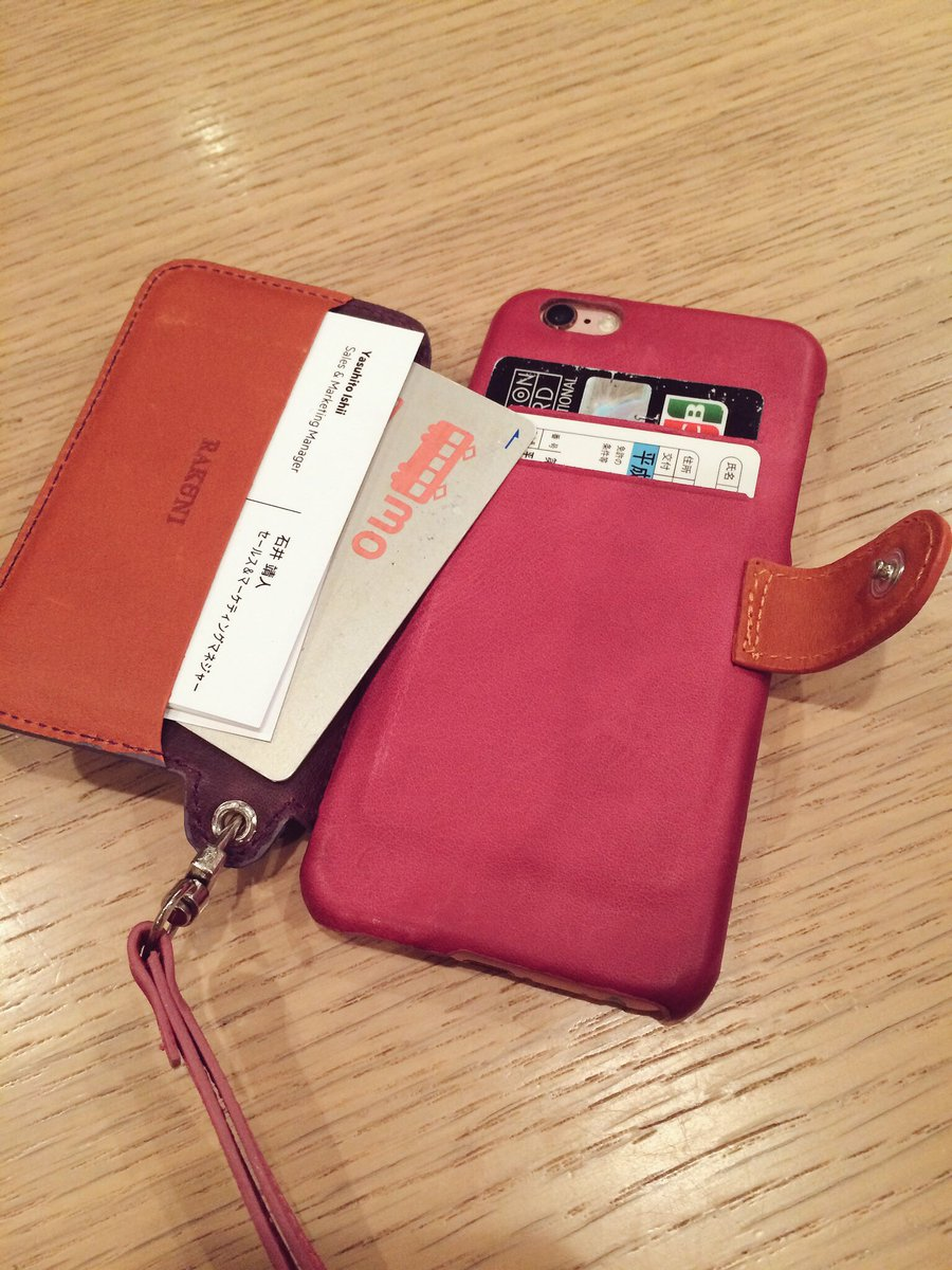@nobi @pichikyo nobiさん、このケース、めっちゃ便利です。1日使いましたが、色々目からウロコ過ぎて、感激してます。 https://t.co/C57vxzf8vU