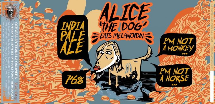 "Cerveseria Catalluna on Twitter: ""Barril / On Tap @LaCalaveraCoop Alice the  Dog (IPA), ABV 7,6% #catalluna #Gràcia #IPA #cervesacatalana #localbeer… """
