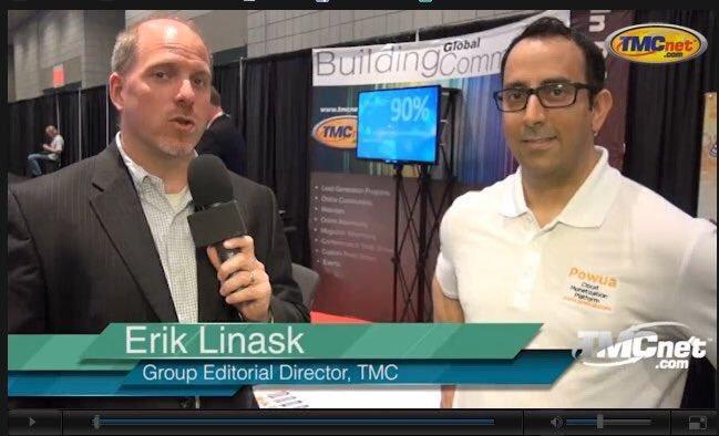 Solgenia Powua Interview with TMC's Erik Linask discussing Cloud Monetization