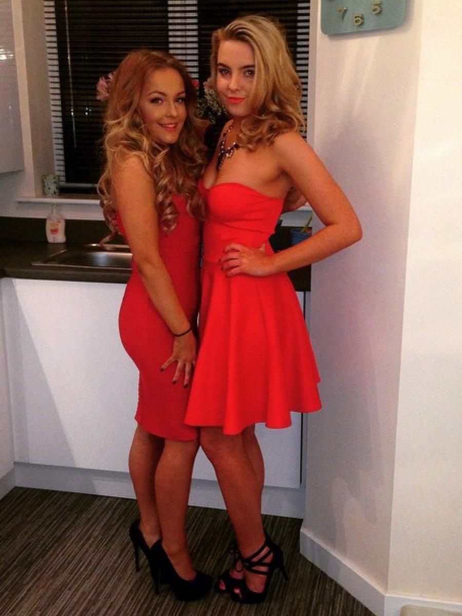 teenage girls in high heels