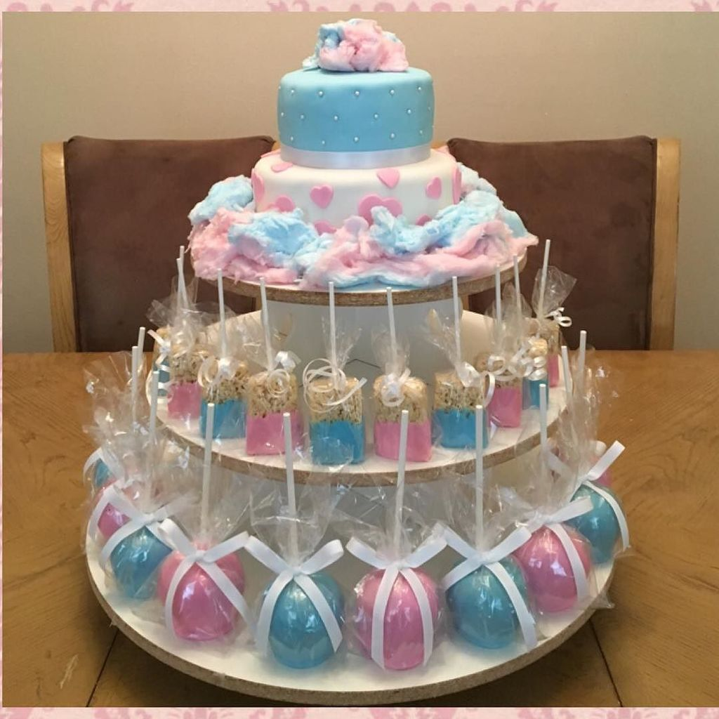 Yogi On Twitter Cotton Candy Themed Birthday Party Cottoncandy Cake Chocolatecoveredricekrispytreats Candyapples Ja