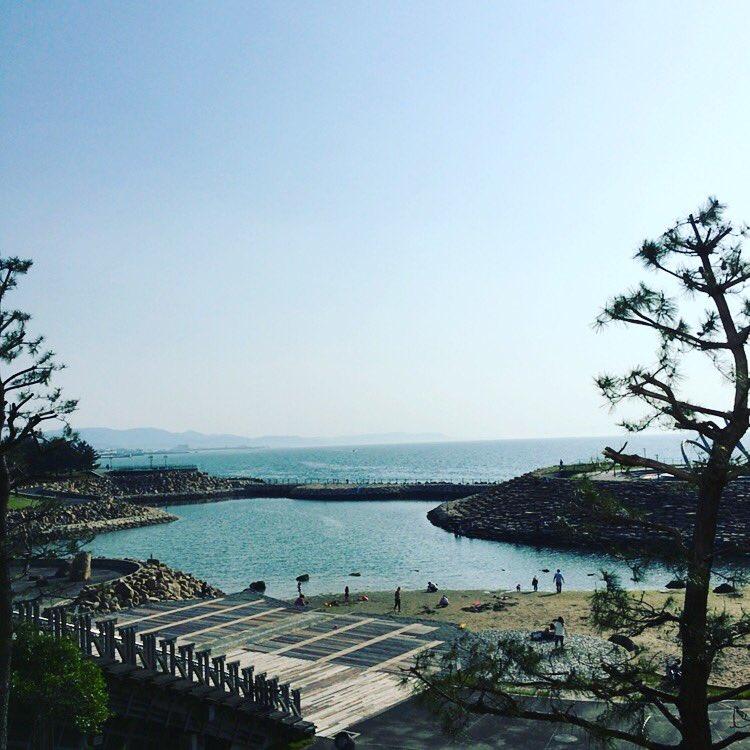 りんくう公園で打ち合わせしてきたよ。 今年も開催‼︎ RINKU SUMMER BEACH BASH 2016 詳細は近日発表します。 https://t.co/kuDkYMW70L