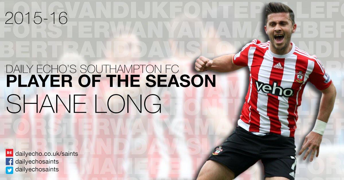 Congratulations @shanelong7 on winning the @dailyecho #SaintsFC Player of the Season award! https://t.co/DE0k0KTfr1 https://t.co/LtvWsJTc9d