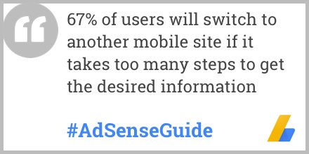 The new #AdSenseGuide will show you how site design can influence audience engagement:  https://t.co/vGaE2js6Vf https://t.co/3Q8DVfM33F