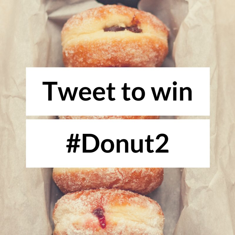 Want to win a box of doughnuts? Tweet us with the best piece of business advice you've been given. #Donut2 https://t.co/D4OZxIJC2F