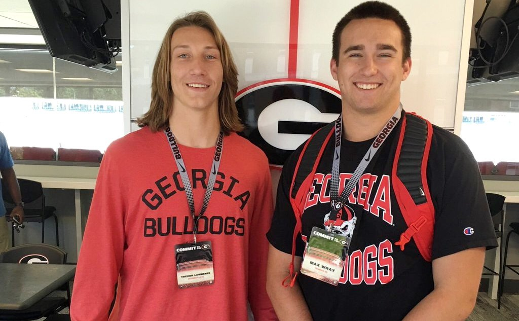 "Georgia Recruiting 2018: Max Wray, ""My number one target right now is Trevor Lawrence,"""