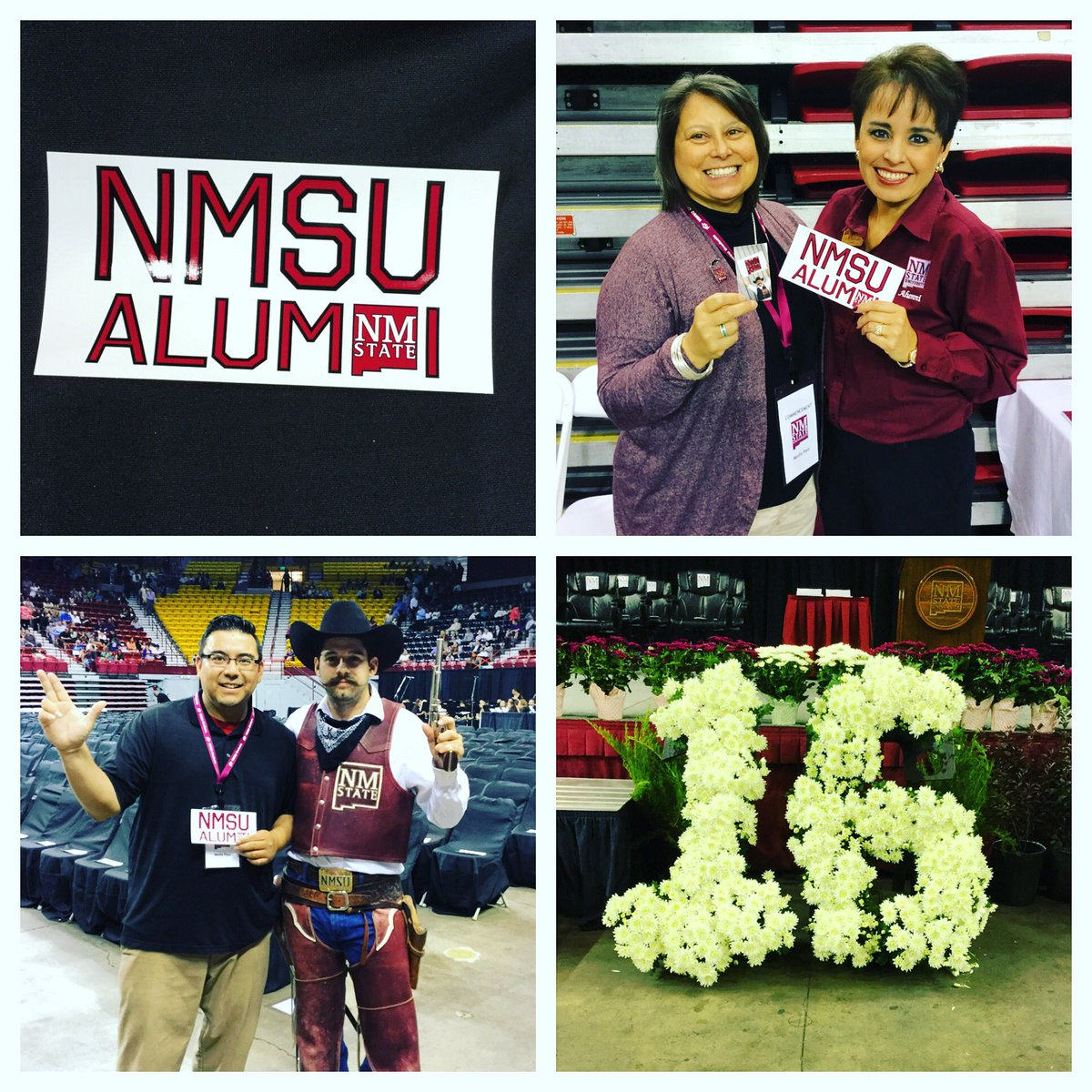 We are ready for the morning #NMSU Conmencement. Who's ready to be a #NMSUGrad ? #supportnmsu #goaggies #aggies https://t.co/ymxuROrD0d