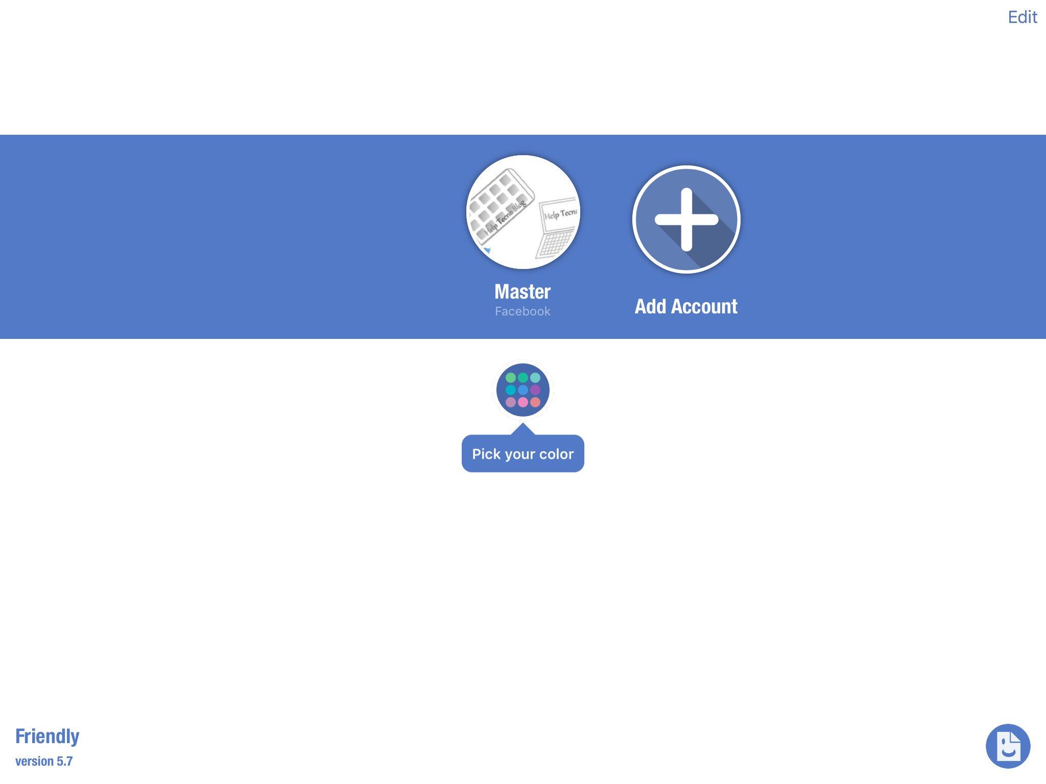 Come avere più profili facebook su iPhone