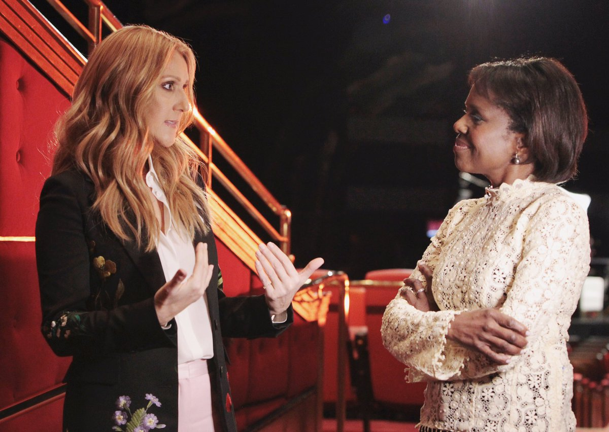 Inspired by @celinedion who spoke about heartbreak & life after death of husband Rene. Honest & open. @GMA next week https://t.co/WlAnQBIbk3