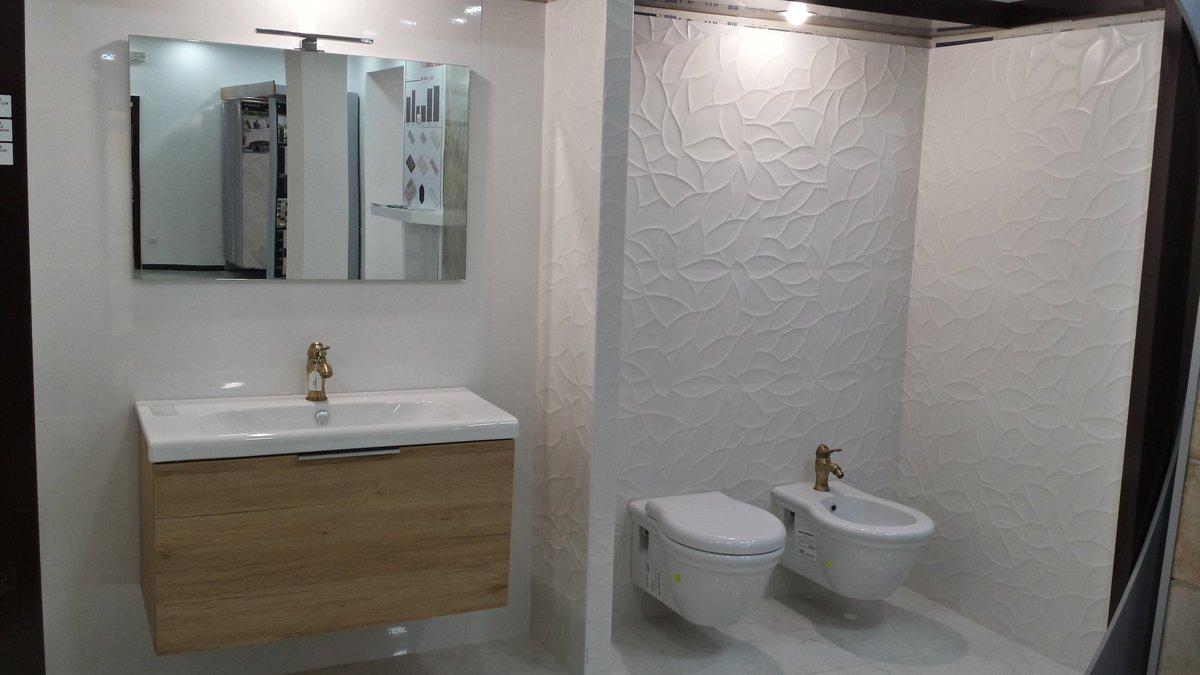 Bagno 3d elegant lavabo nero in bagno d rendering foto di for Arredo bagno 3d